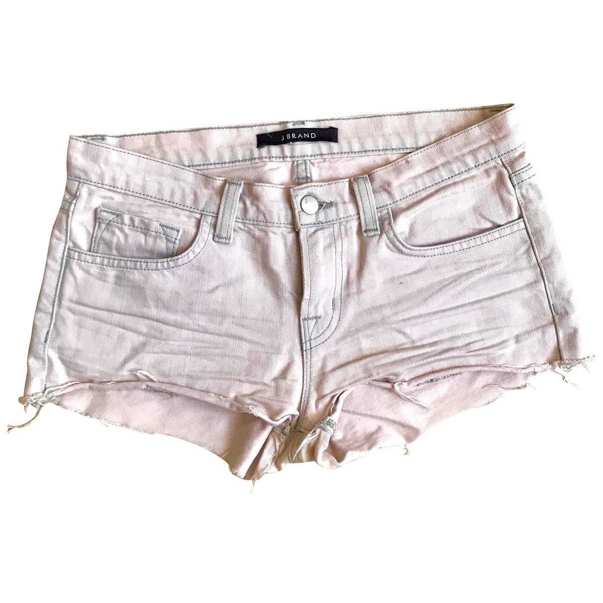 J Brand \N Pink Denim - Jeans Shorts for Women XS International