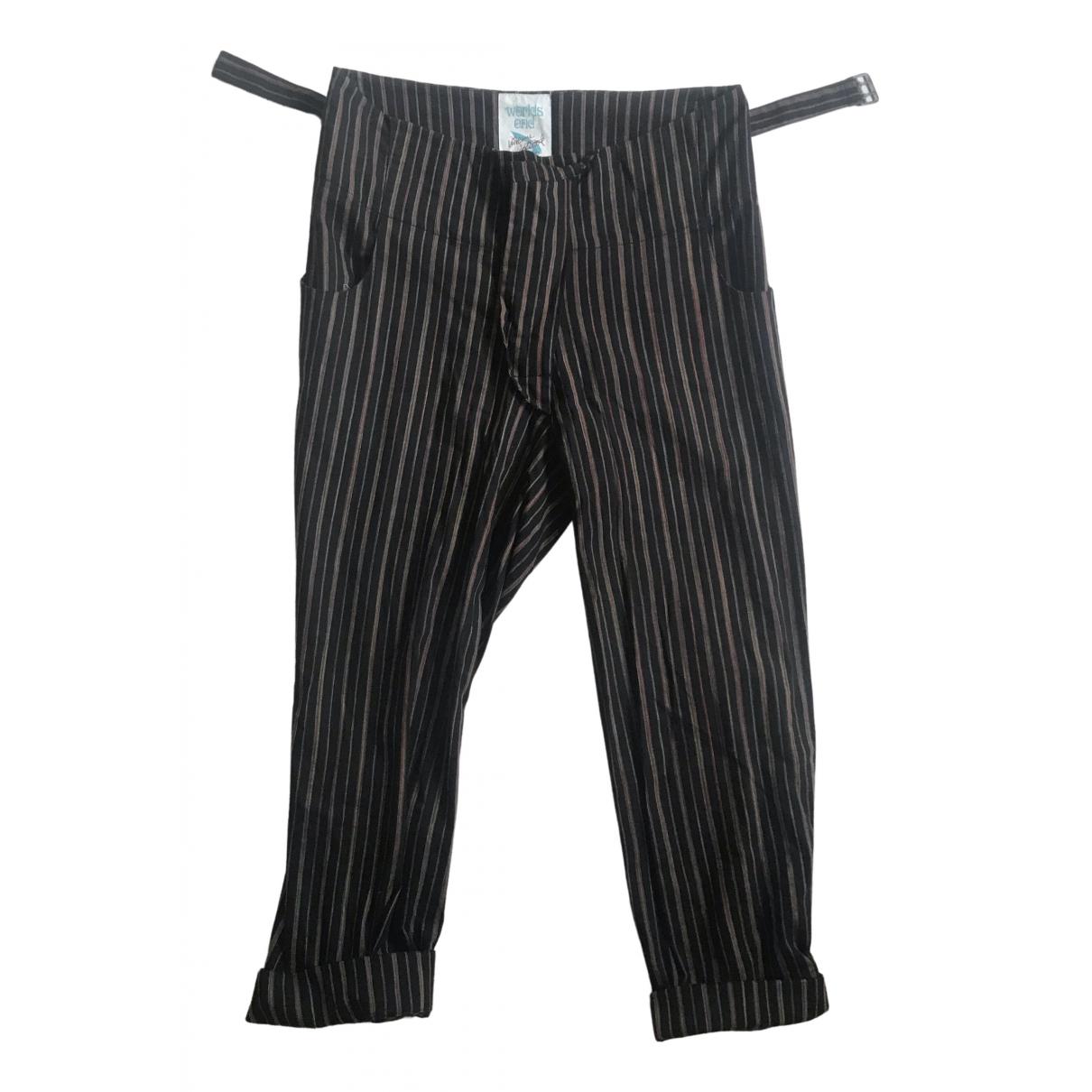 Vivienne Westwood \N Multicolour Wool Trousers for Men L International