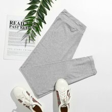 Plus Heather Gray Leggings