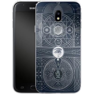 Samsung Galaxy J3 (2017) Silikon Handyhuelle - Eternal Universe von Daniel Martin Diaz