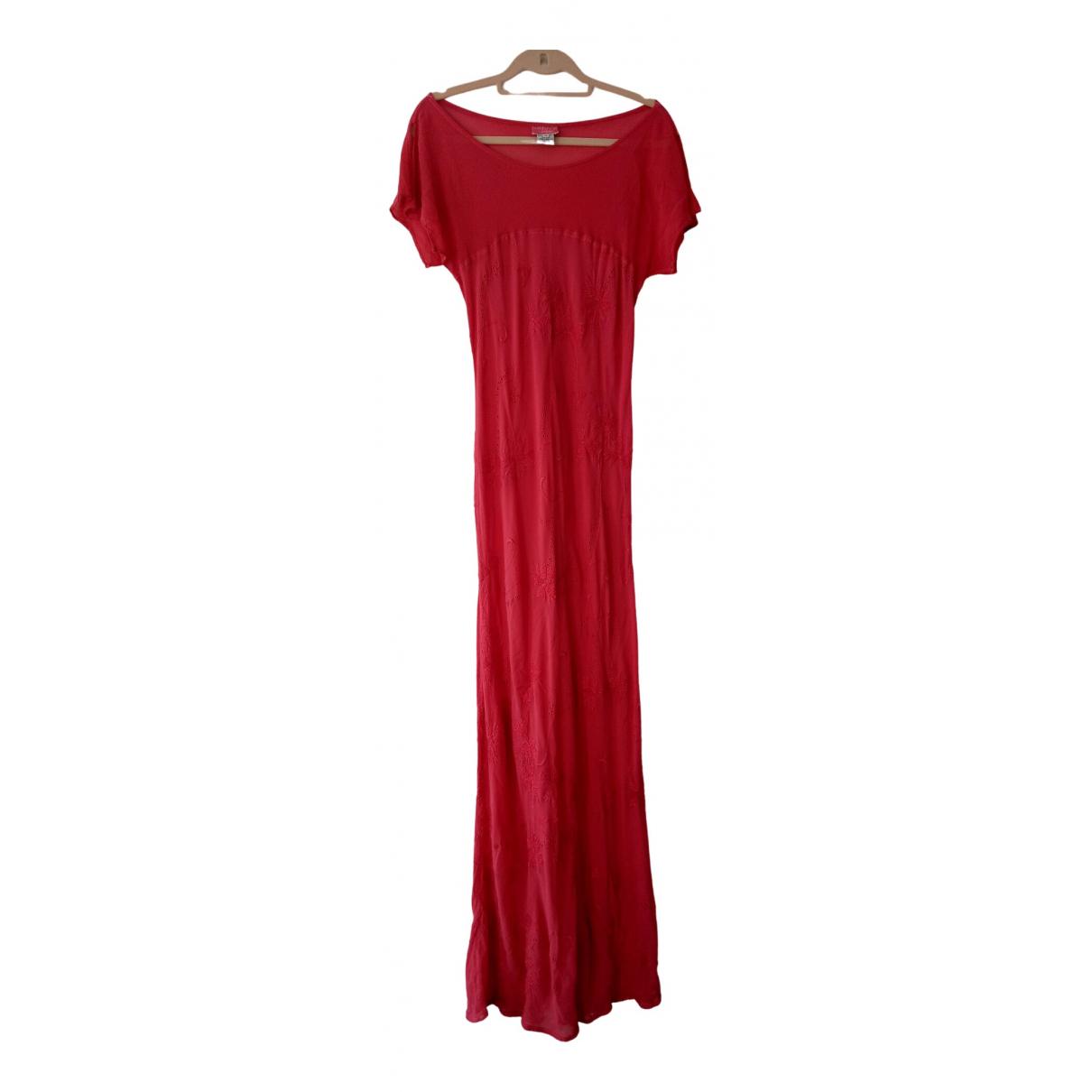 Ghost London \N Kleid in  Rosa Viskose