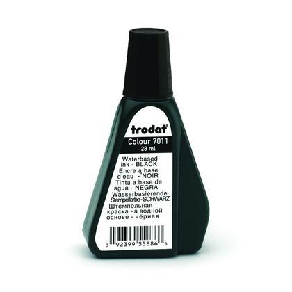 Trodat@ 7011 Premium Ink for Stamp Pad, 28ml/bottle