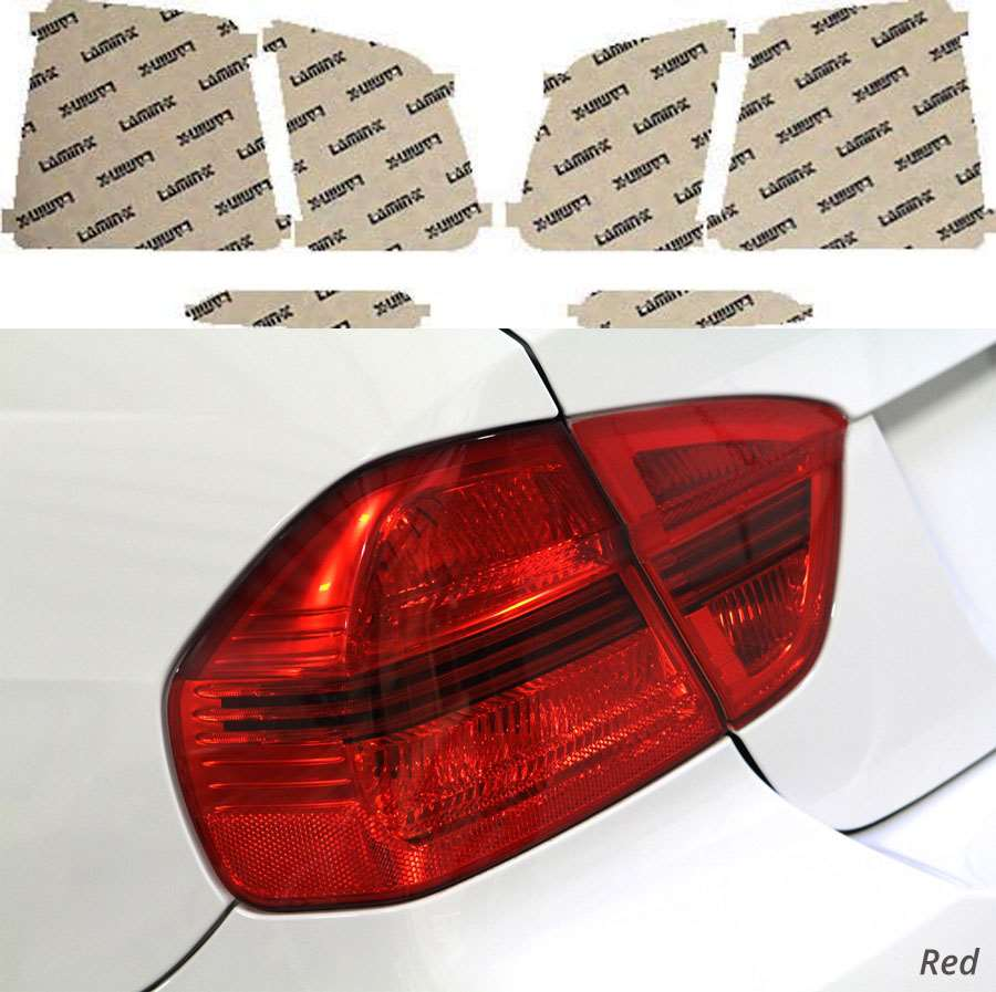 Kia Sorento 11-13 Red Tail Light Covers Lamin-X K217R