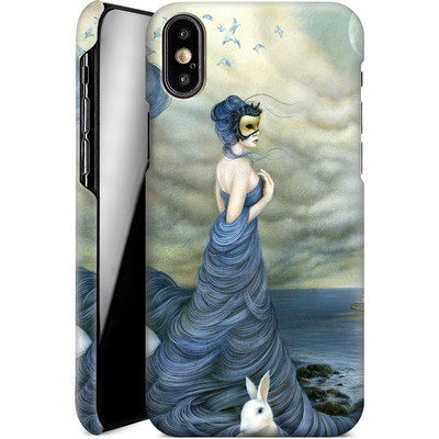 Apple iPhone XS Smartphone Huelle - Where Time Beckons the Wicked von Dan May