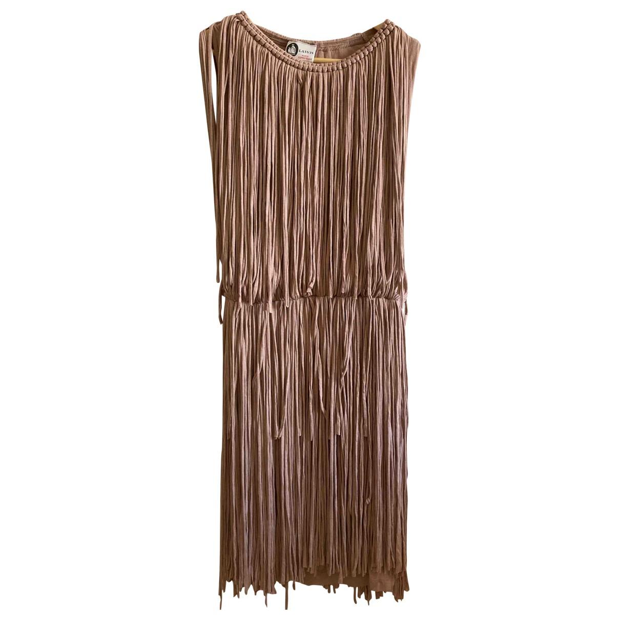 Lanvin N Beige dress for Women 34 FR