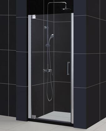 SHDR-4159720-01 Elegance 59 3/4 - 61 3/4 In. W X 72 In. H Frameless Pivot Shower Door In