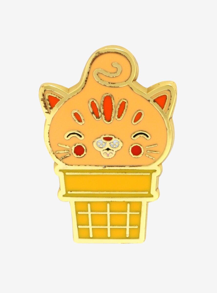 Kitty Cones Sherburt Enamel Pin