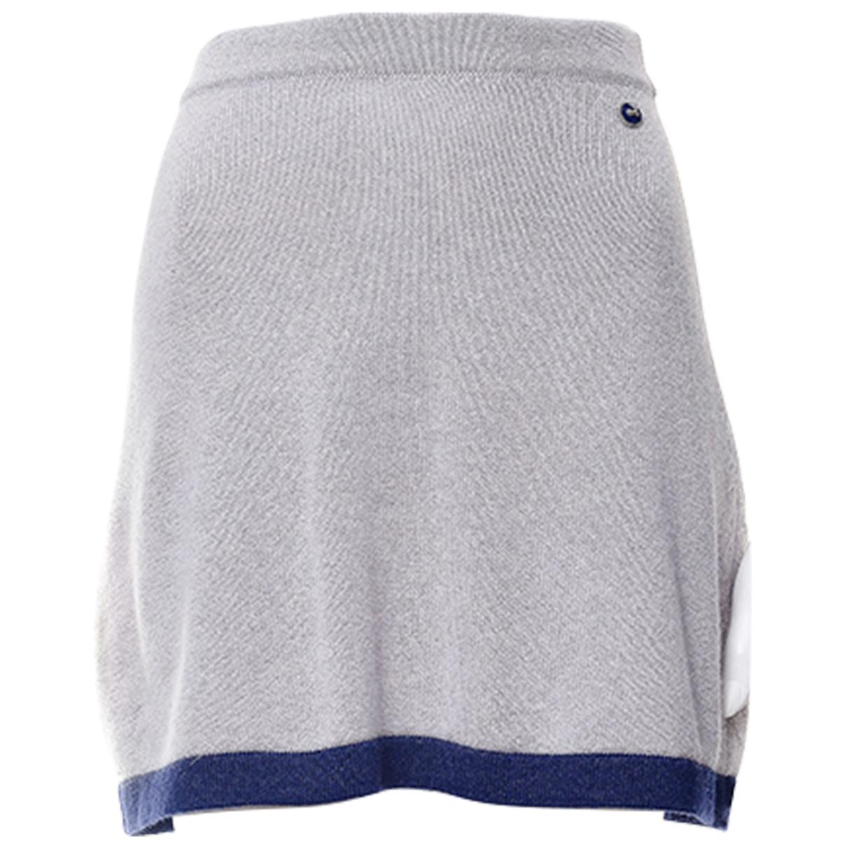 Chanel - Jupe   pour femme en cachemire - gris