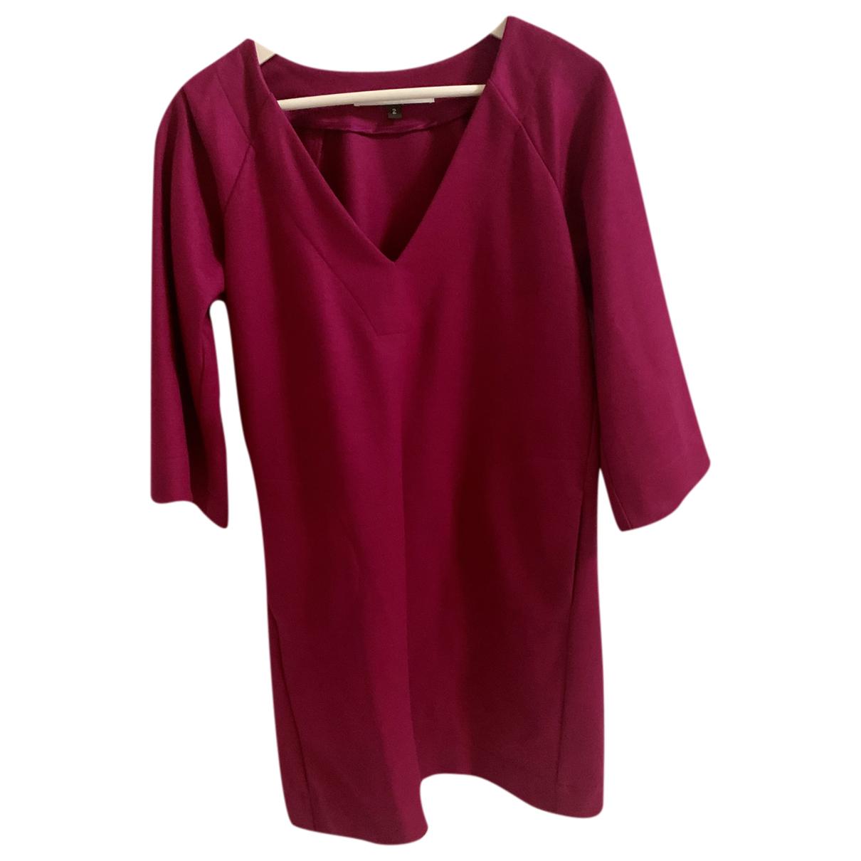 Diane Von Furstenberg - Robe   pour femme en laine - rose