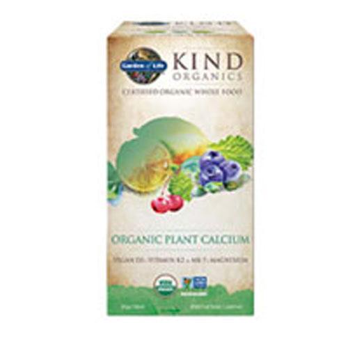 mykind Organics Plant Calcium 180 Tabs by Garden of Life