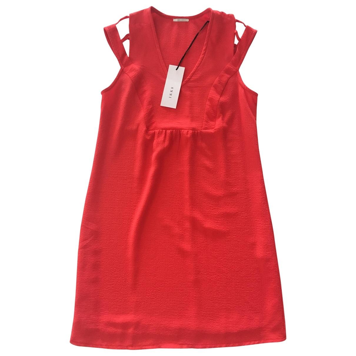 Ikks \N Red dress for Women 38 FR
