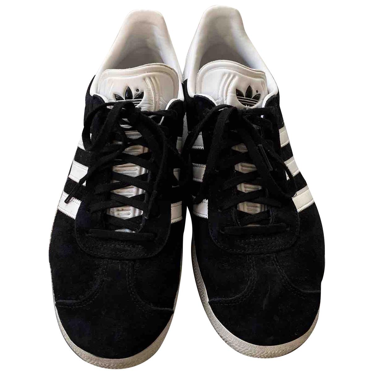 Adidas - Baskets Gazelle pour homme en suede - noir
