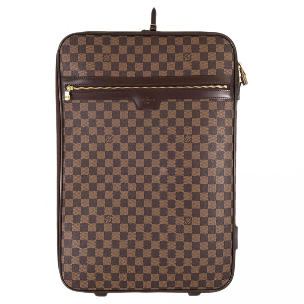 Louis Vuitton Pegase Brown Cloth bag for Men \N