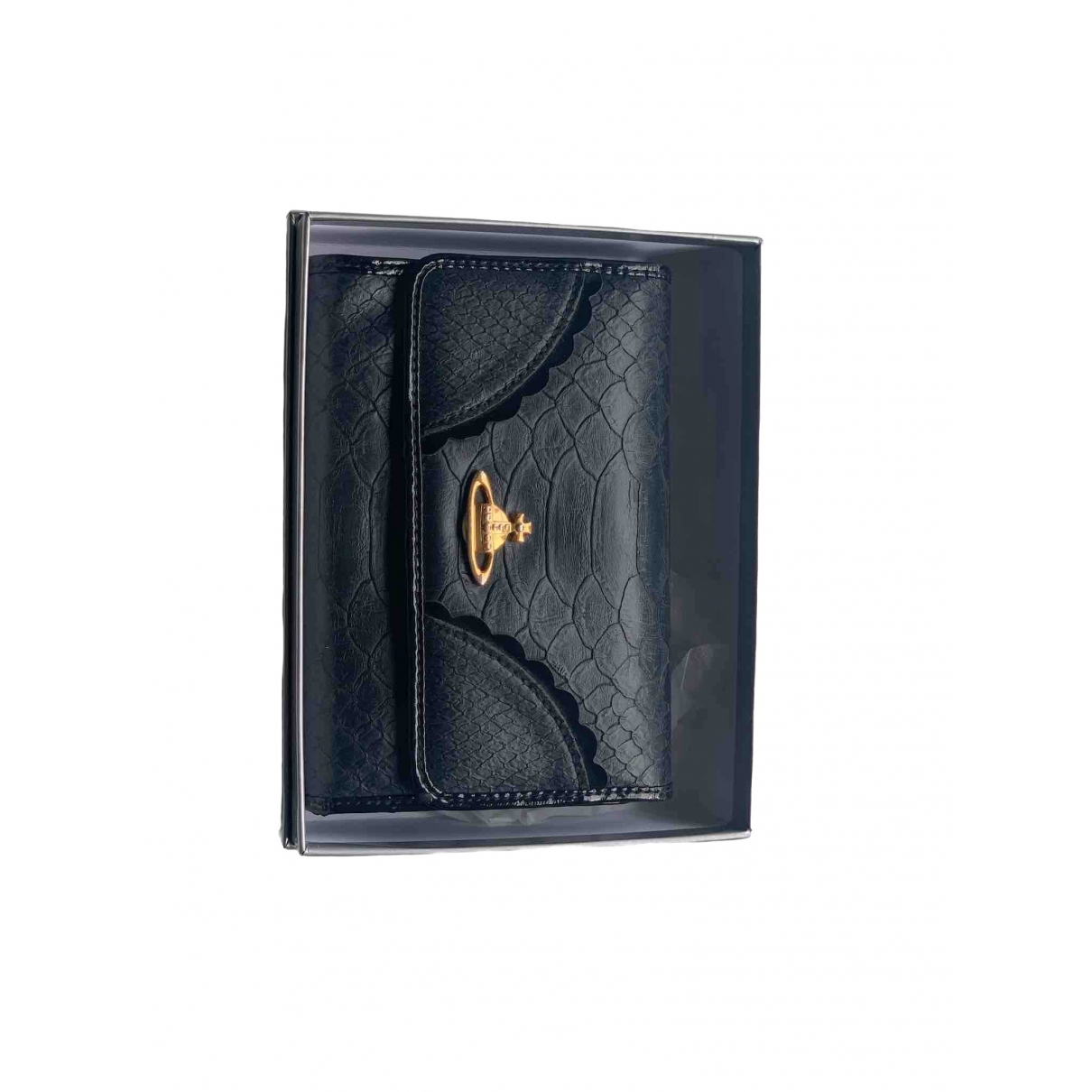 Vivienne Westwood \N Black Leather Purses, wallet & cases for Women \N