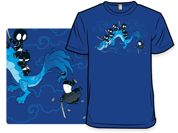 The Unstealthiest Ninja: Flight School T Shirt