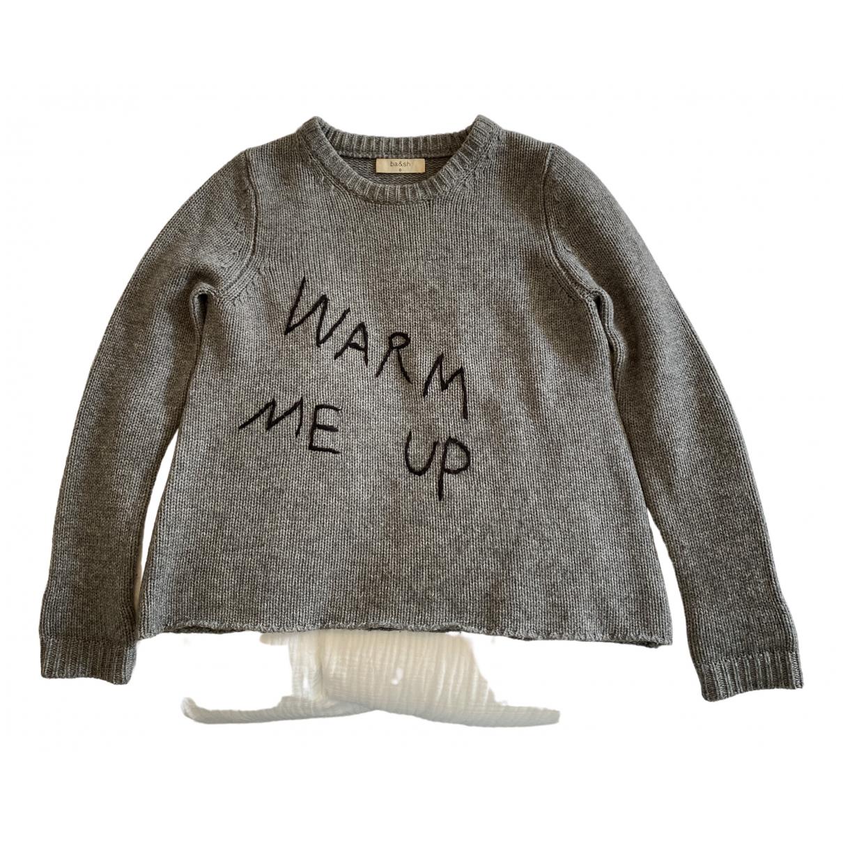Ba&sh \N Pullover in  Grau Wolle