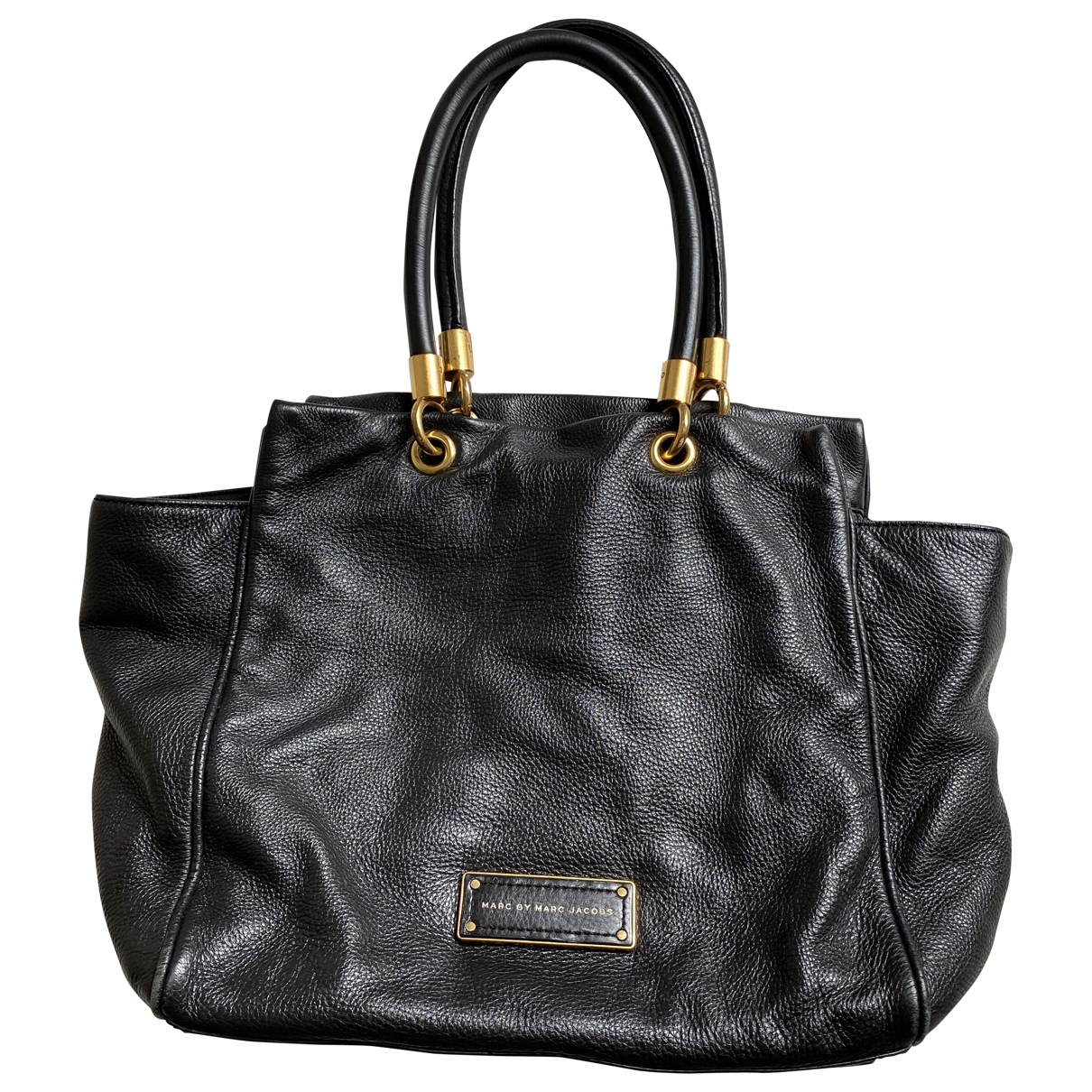 Marc By Marc Jacobs Too Hot to Handle Black Leather handbag for Women \N