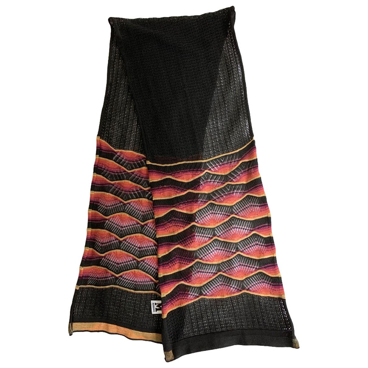 M Missoni \N Black scarf for Women \N