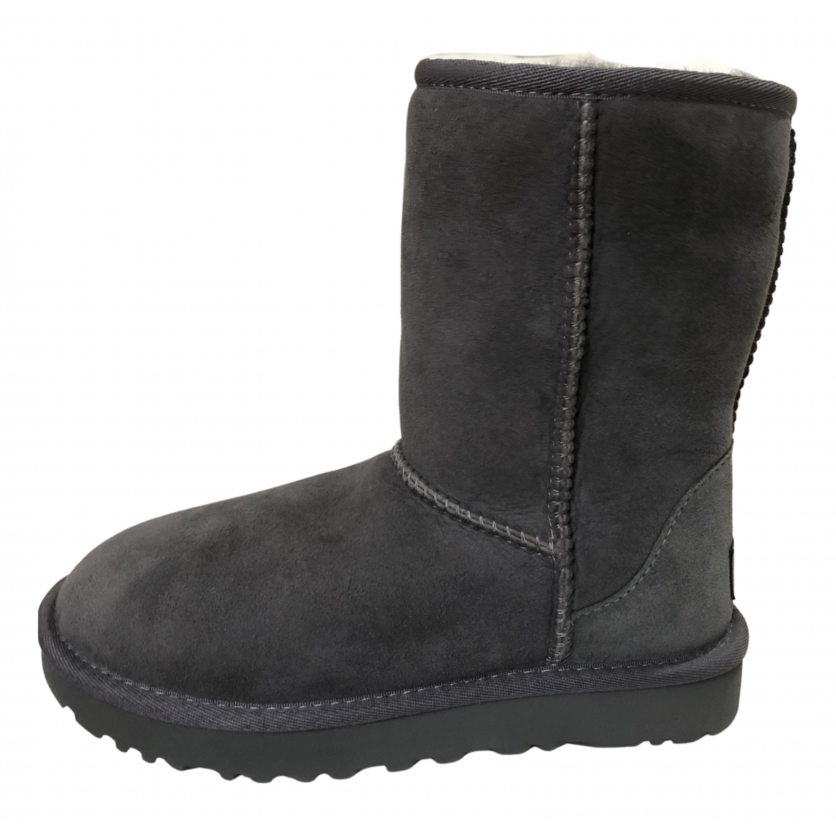 Ugg - Bottes   pour femme en mouton - gris