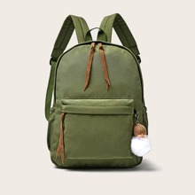 Knot Detail Large Capacity Backpack