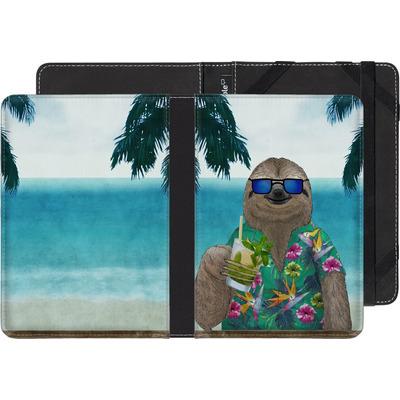 Amazon Kindle Paperwhite eBook Reader Huelle - Summer Sloth Drinking Mojito von Barruf