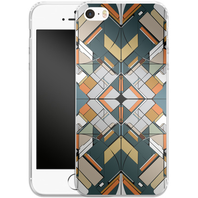 Apple iPhone 5 Silikon Handyhuelle - Mosaic I von caseable Designs