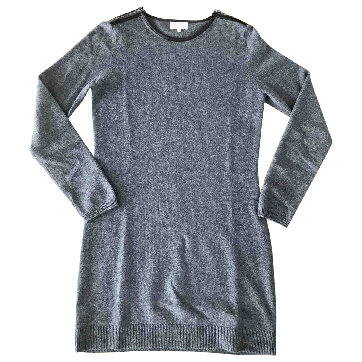 Not Shy \N Grey Cashmere dress for Women M International