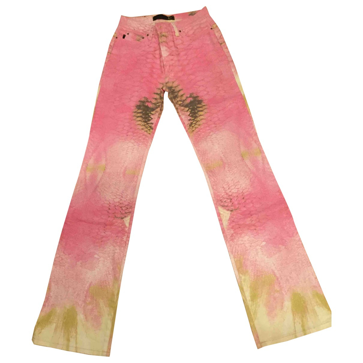Just Cavalli \N Pink Denim - Jeans Jeans for Women 26 US