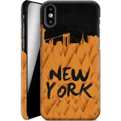 Apple iPhone X Smartphone Huelle - New York City von Danny Ivan