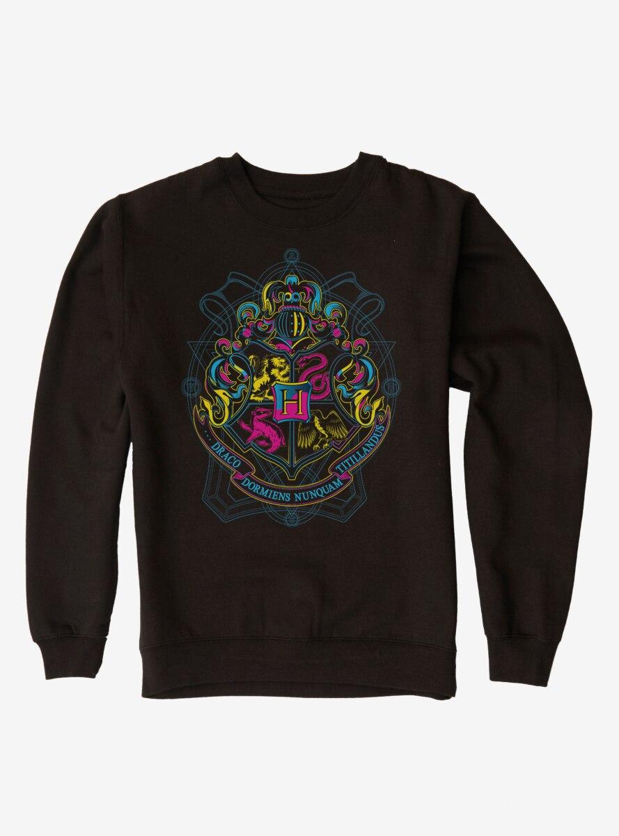 Harry Potter Bright Hogwarts Logo Sweatshirt