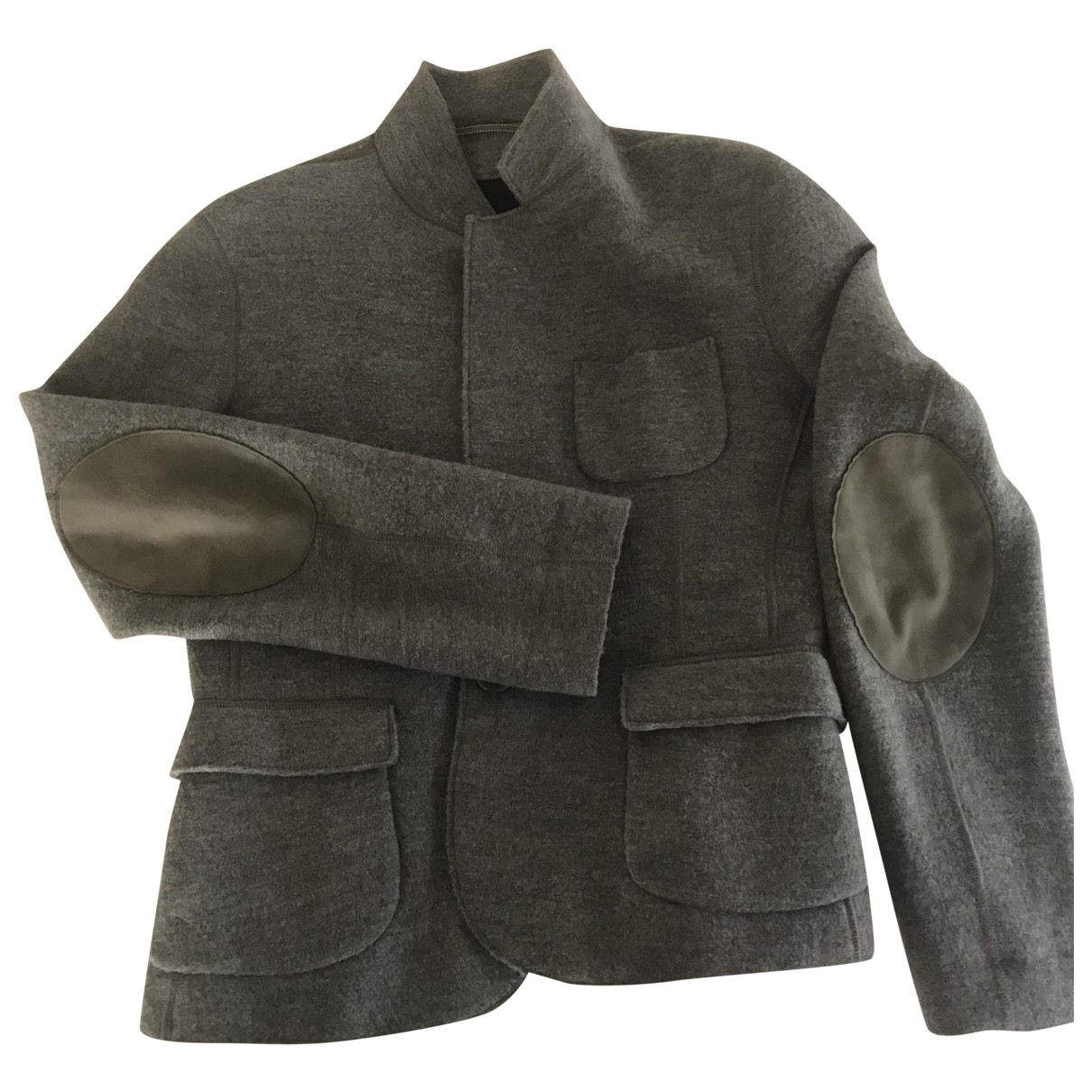 Aspesi - Veste   pour femme en laine - gris