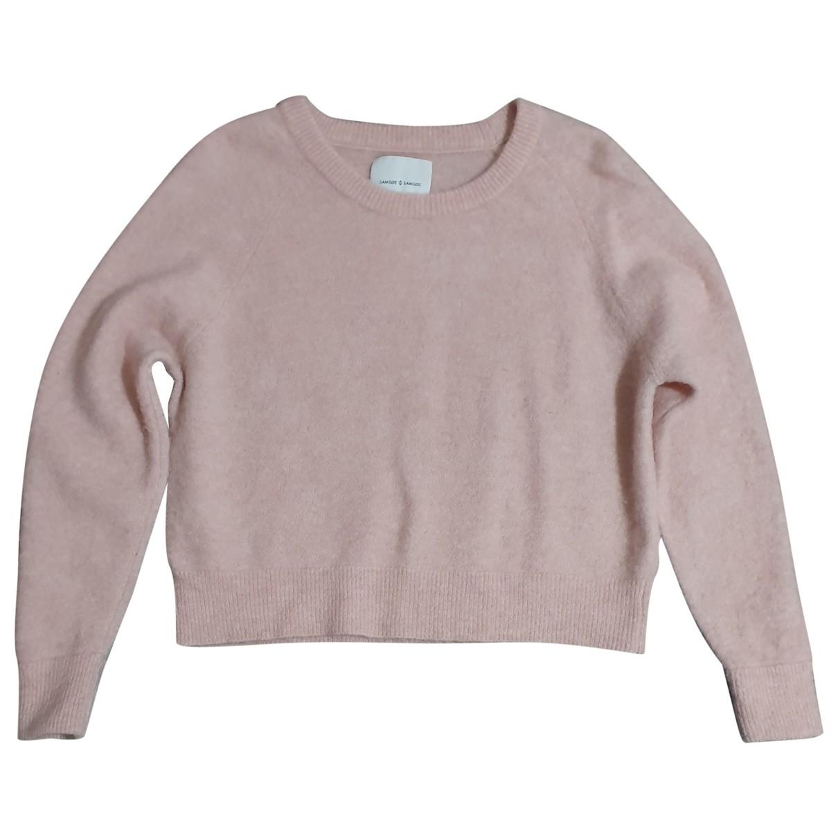 Samsoe & Samsoe - Pull   pour femme en laine - rose