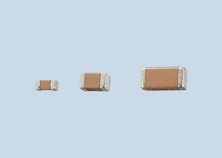 TDK 0603 (1608M) 10nF Multilayer Ceramic Capacitor MLCC 100V dc ±20% SMD C1608JB2A103M (10)