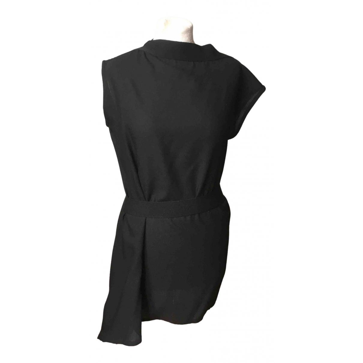 Ann Demeulemeester \N Kleid in  Schwarz Wolle
