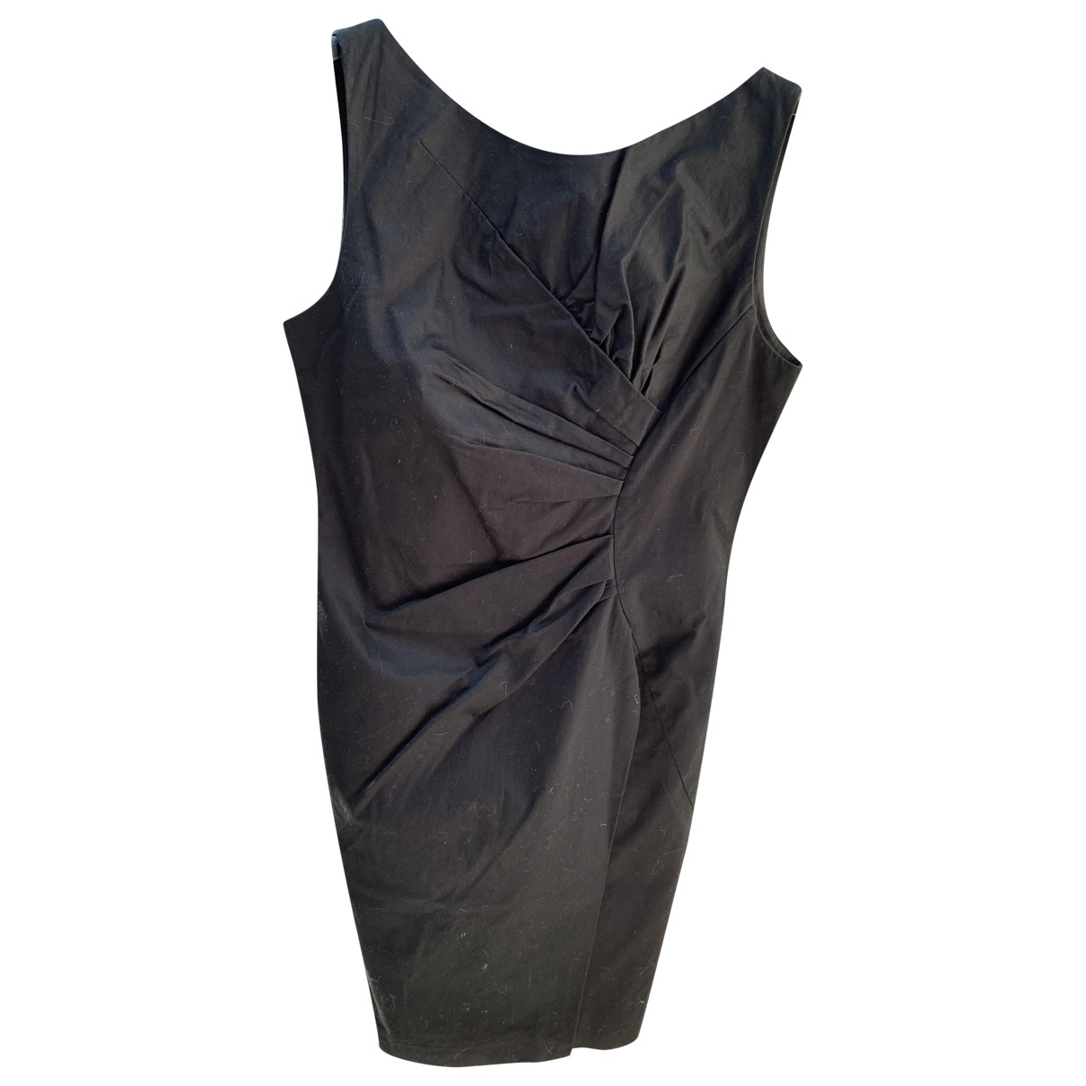 Hoss Intropia - Robe   pour femme en coton - elasthane - noir