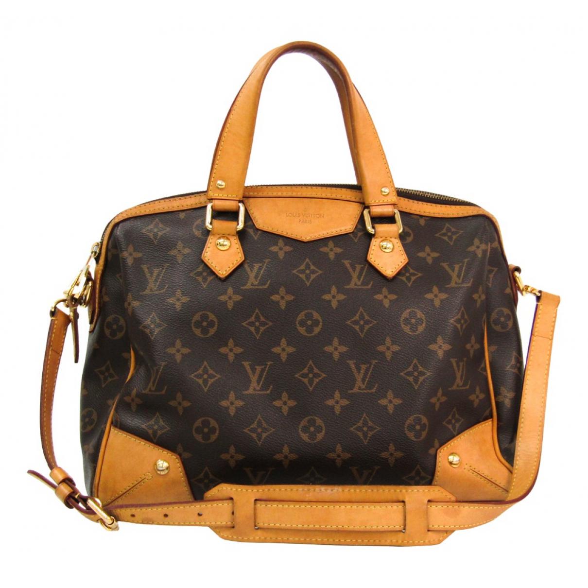 Louis Vuitton Estrela Brown Cloth handbag for Women N