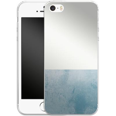 Apple iPhone 5 Silikon Handyhuelle - Colour Block Blue von caseable Designs