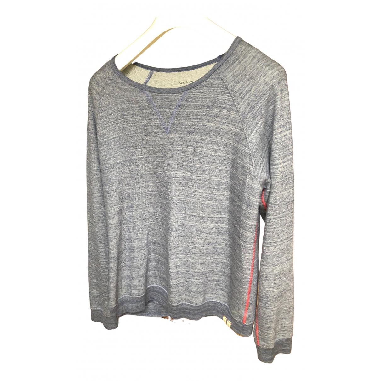 Paul Smith \N Pullover.Westen.Sweatshirts  in  Grau Baumwolle