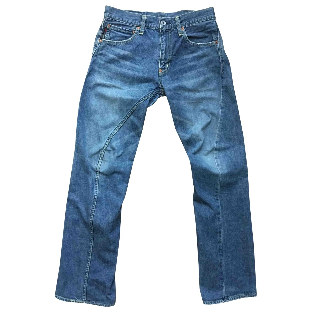 Non Signé / Unsigned \N Cotton Jeans for Men 30 US
