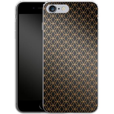 Apple iPhone 6 Plus Silikon Handyhuelle - Night Pattern von #basic