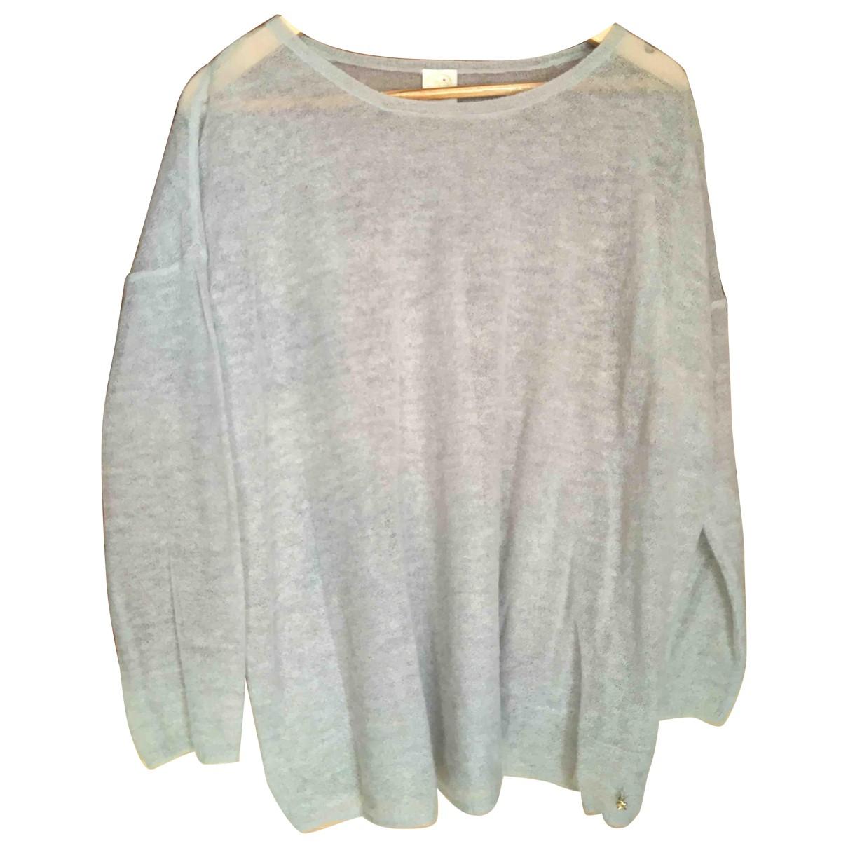 Des Petits Hauts - Pull   pour femme en laine - gris