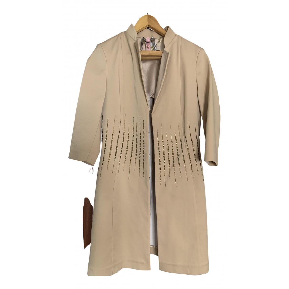 - Veste Epaulettes pour femme en coton - beige