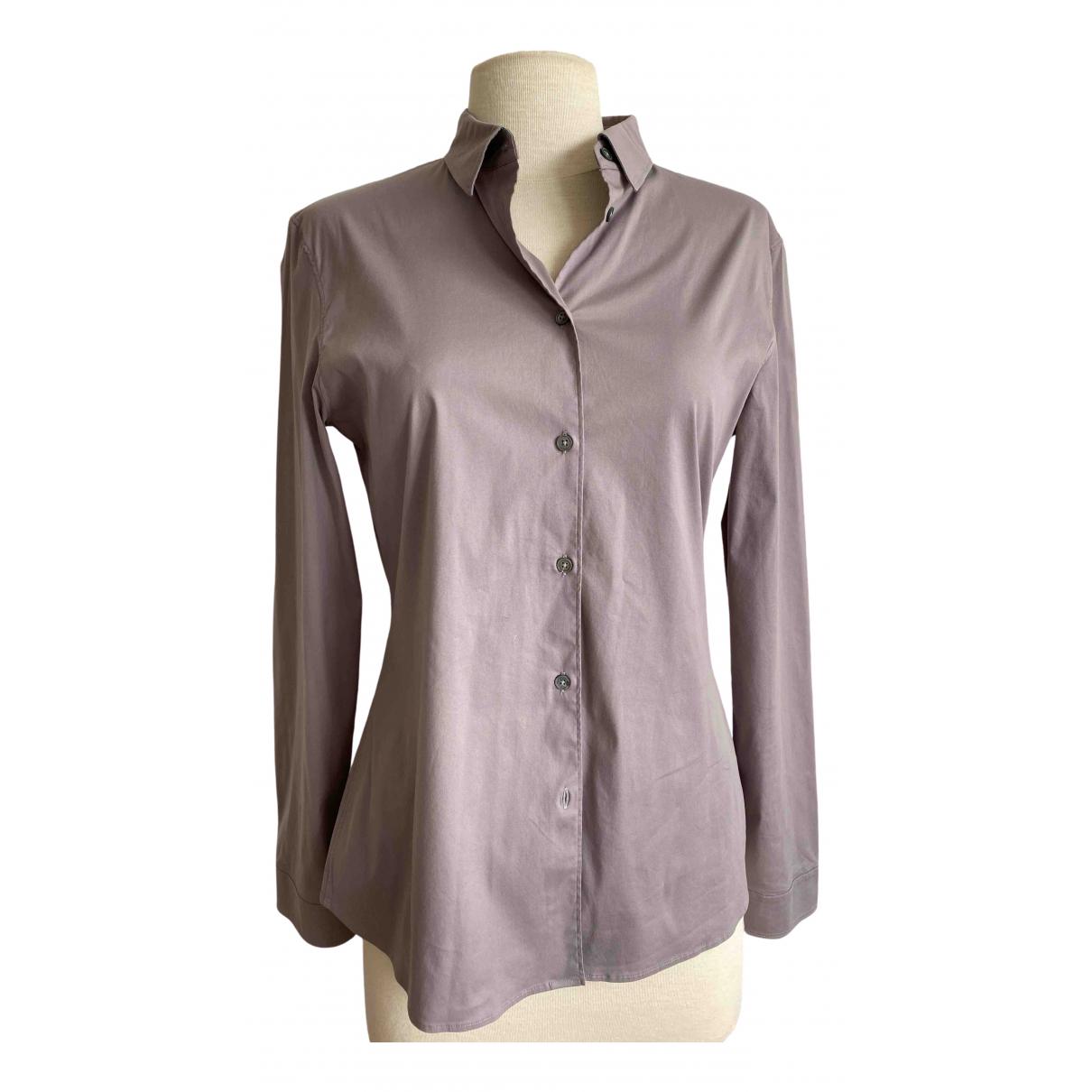 Jil Sander - Top   pour femme en coton - gris