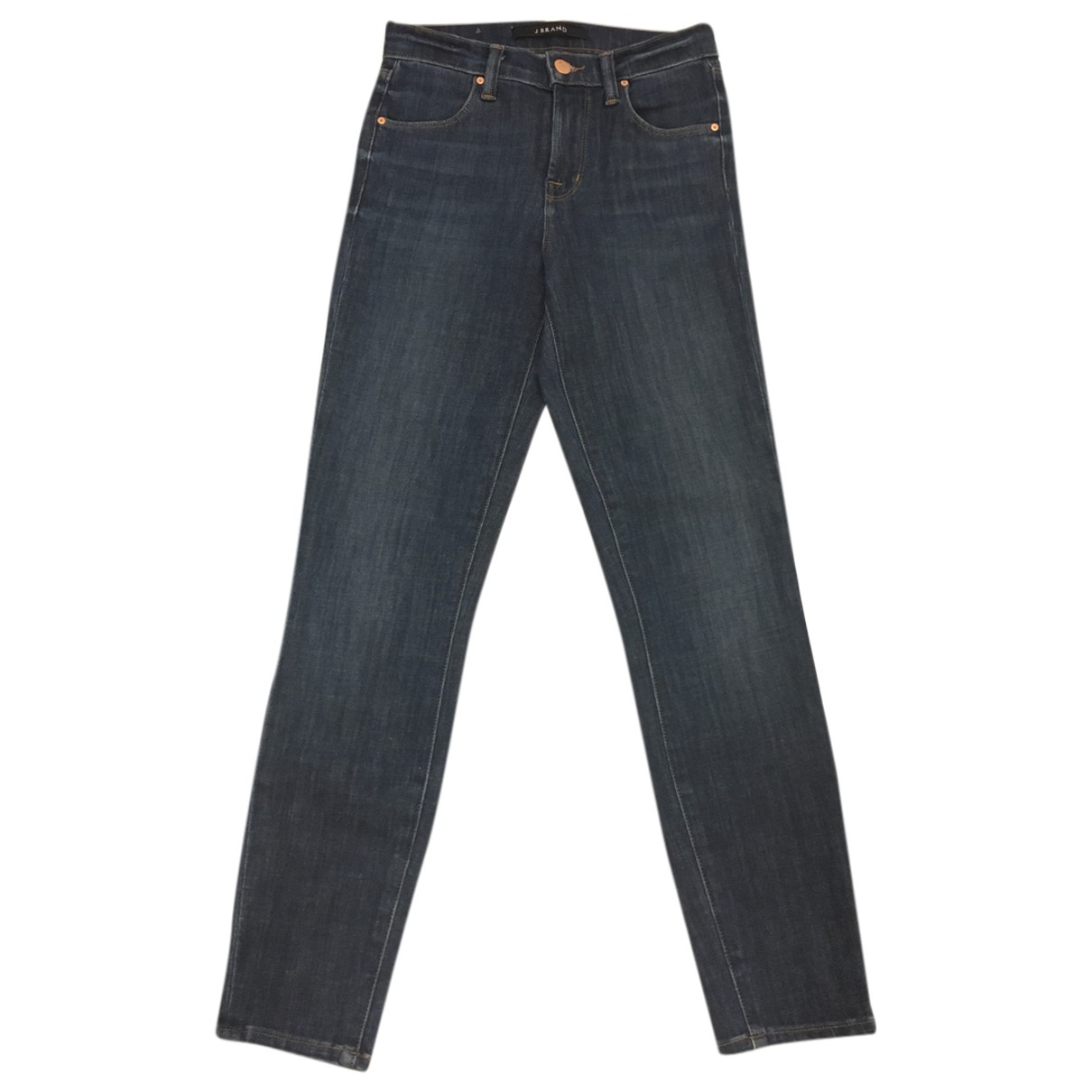 J Brand \N Blue Cotton - elasthane Jeans for Women 24 US
