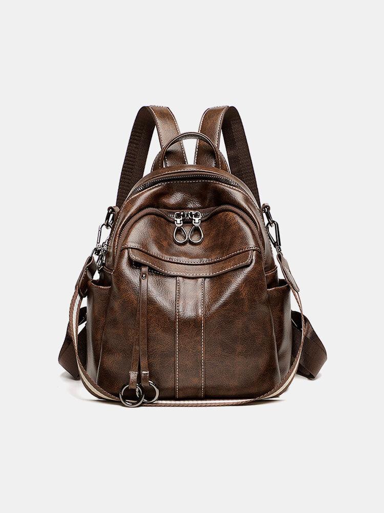 Women AntiTheft Multi-carry Shoulder Bag Backpack