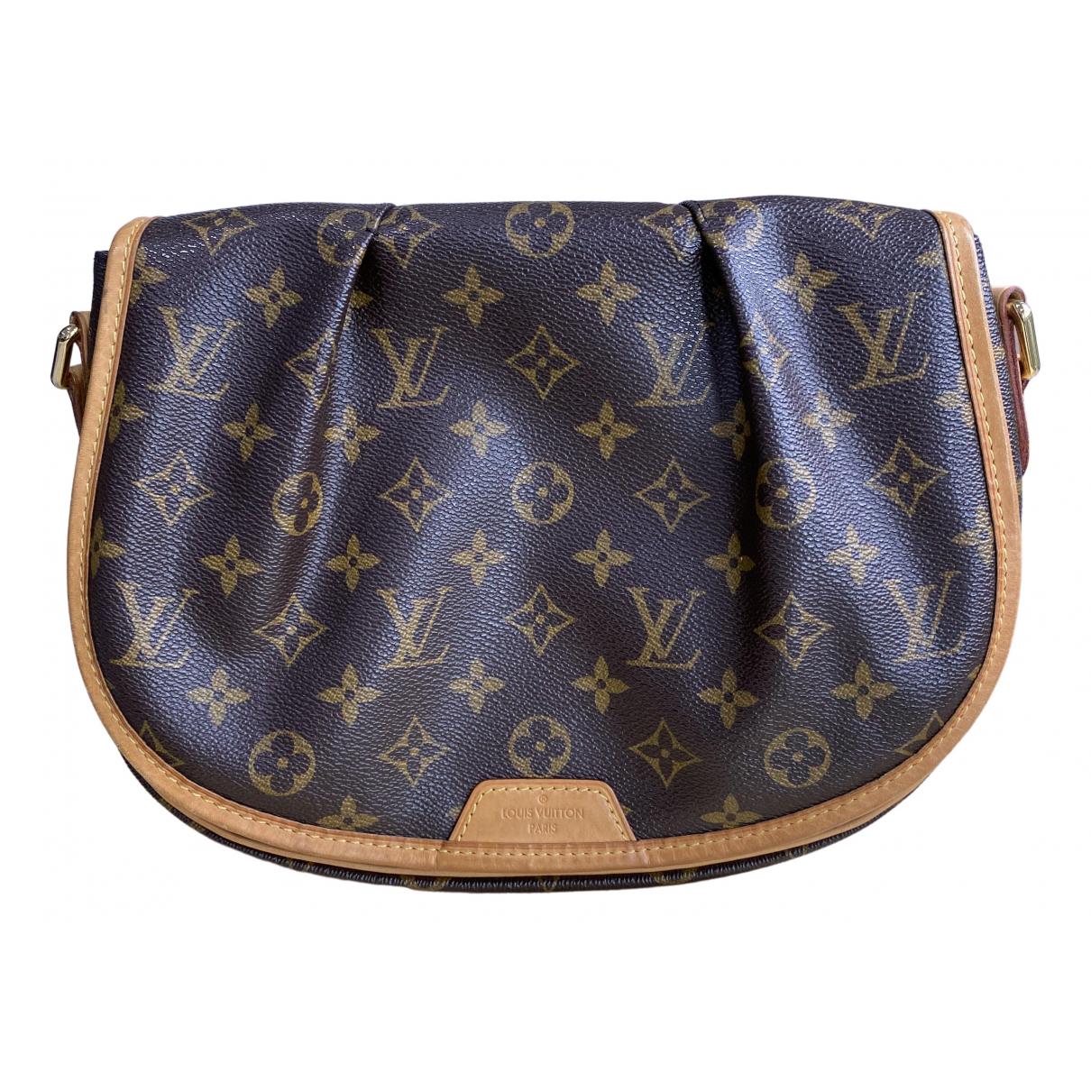 Louis Vuitton Menilmontant  Brown Cloth handbag for Women N