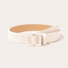 Simple Buckle Belt