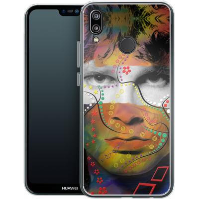 Huawei P20 Lite Silikon Handyhuelle - Rockstar von Mark Ashkenazi