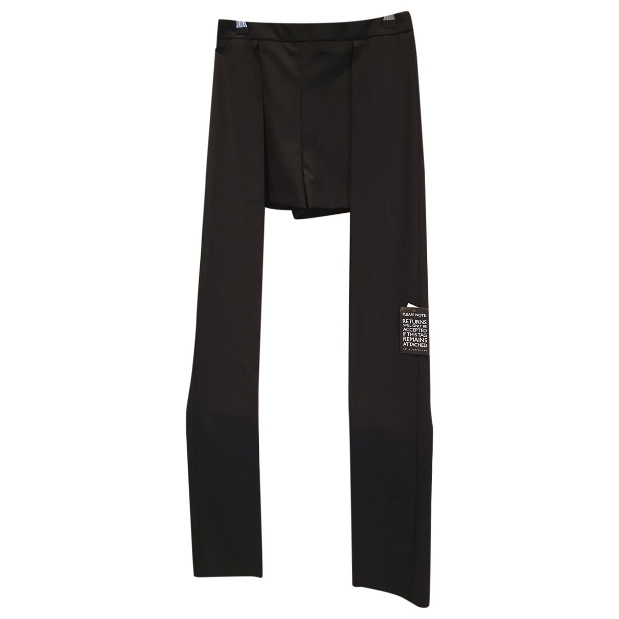 Chalayan \N Shorts in  Schwarz Wolle
