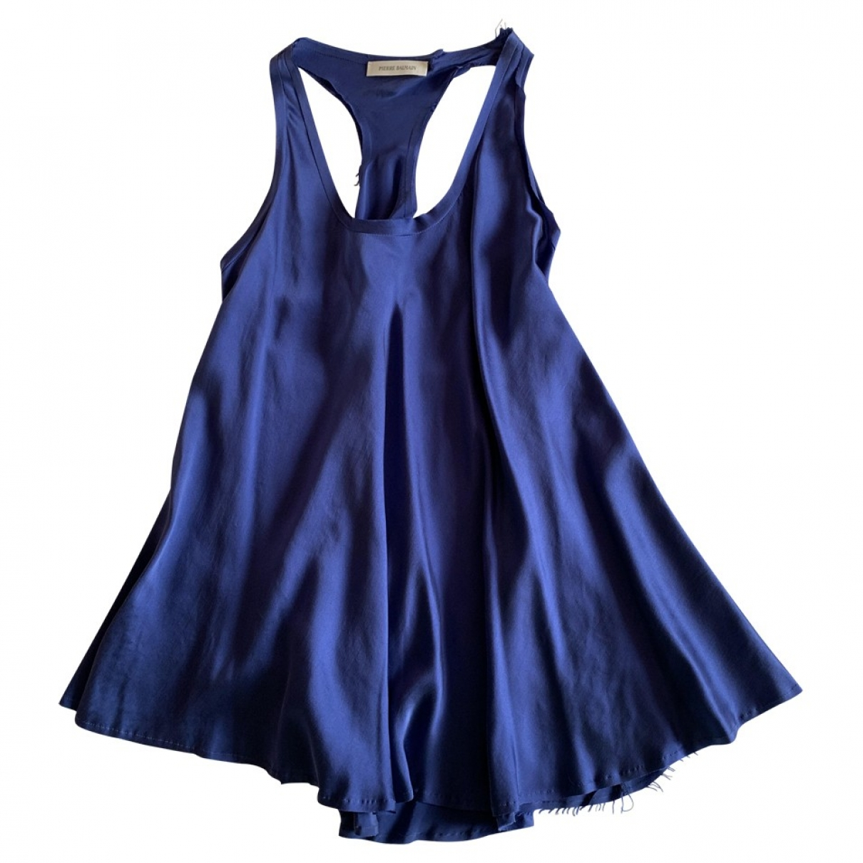 Pierre Balmain \N Blue Silk  top for Women XS International